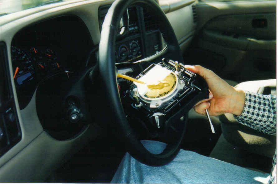 horn location 2003 chevy silverado